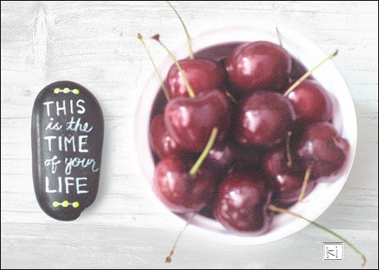bowl, cherries, ston, time, of, your, life
