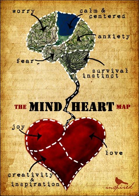 mind-heart-map digital art inspired