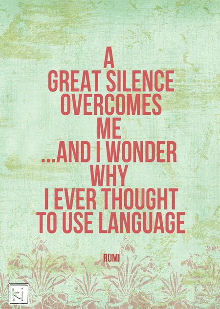 Silence-overcomes-me