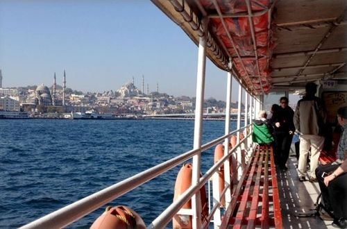 Sailing the Bosphorus, Istanbul, Turkey